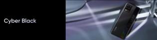 Realme 8 comes in Cyber Silver and Cyber Black