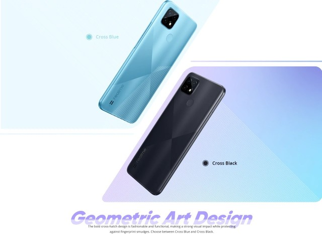 Realme C21 will have two color options