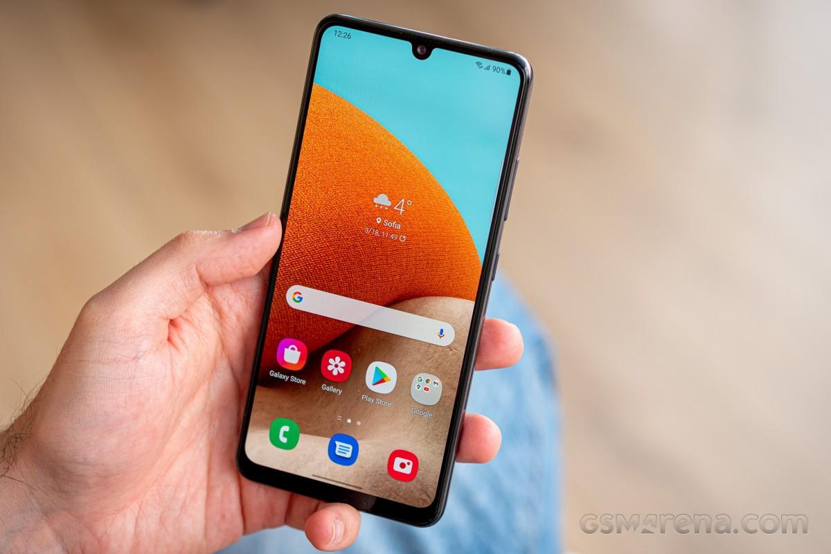 Samsung Galaxy A32 4G di untuk review