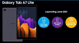 Galaxy Tab A7 Lite and S7 Lite will be launched in June 2021