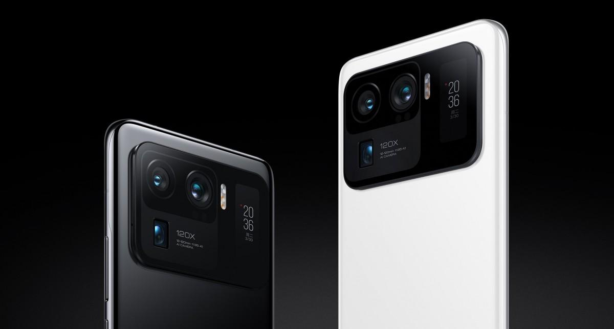All three of Mi 11 Ultra's rear cameras can record 8K video