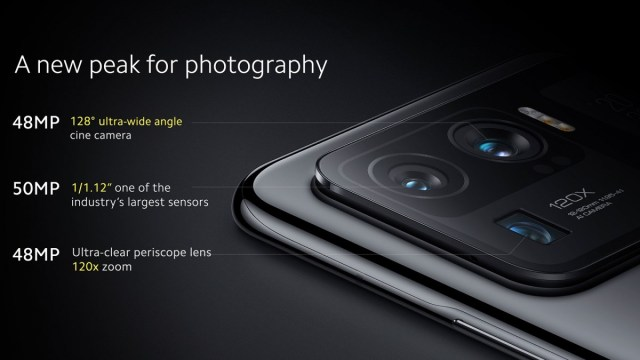 Xiaomi Mi 11 Ultra brings massive camera sensors and two screens, Mi 11i also announced
