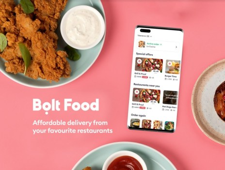 Bolt Food is the latest food delivery platform on Huawei AppGallery