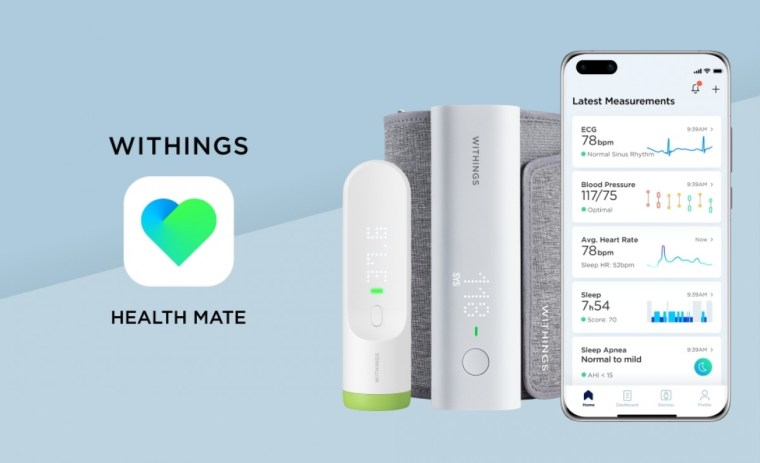 Health app Withings is now part of Huawei AppGallery