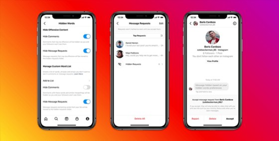 Instagram is introducing new tools to filter aggressive DM applications