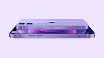 The new Purple color for the iPhone 12 and 12 mini