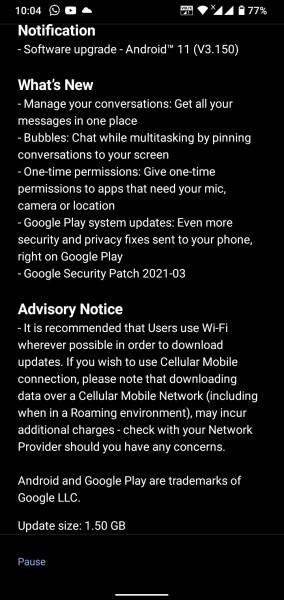 Nokia 4.2 obtiene la actualización de Android 11