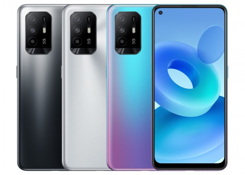Oppo A95 5G is official, it is the Reno5 Z/F19 Pro+ with one less camera
