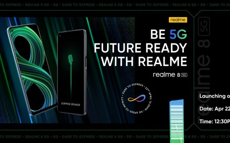 Realme 8 5G Indian launch officially set for April 22