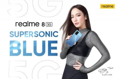 Realme 8 5G leaks in Supersonic Blue, shows up on Google Play Console