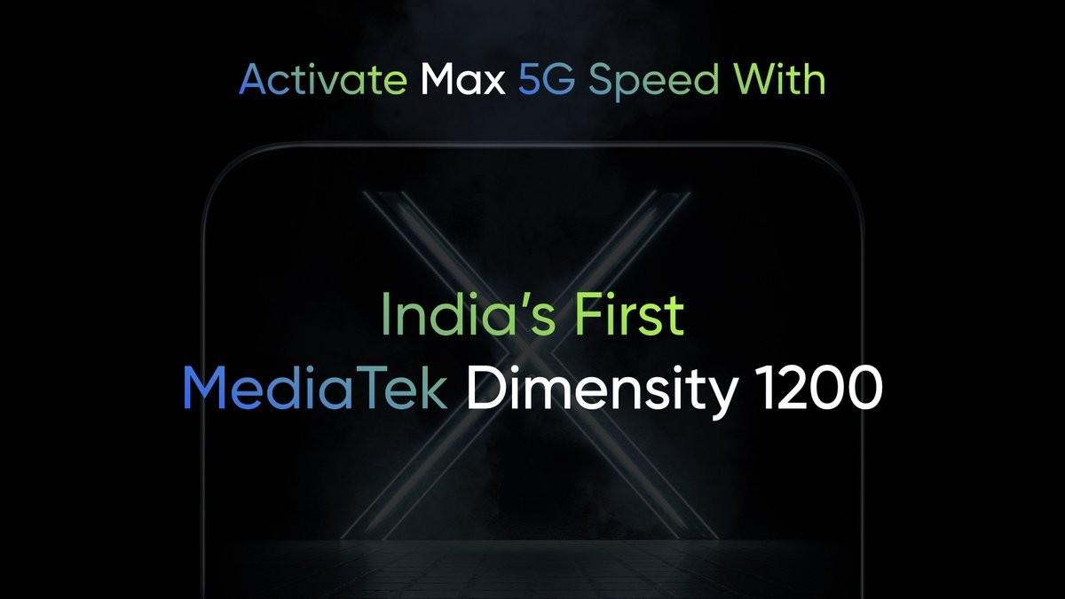 Realme menggoda smartphone bertenaga Dimensity 1200 pertama untuk India