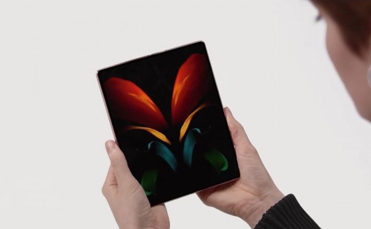 The Samsung Galaxy Z Fold2