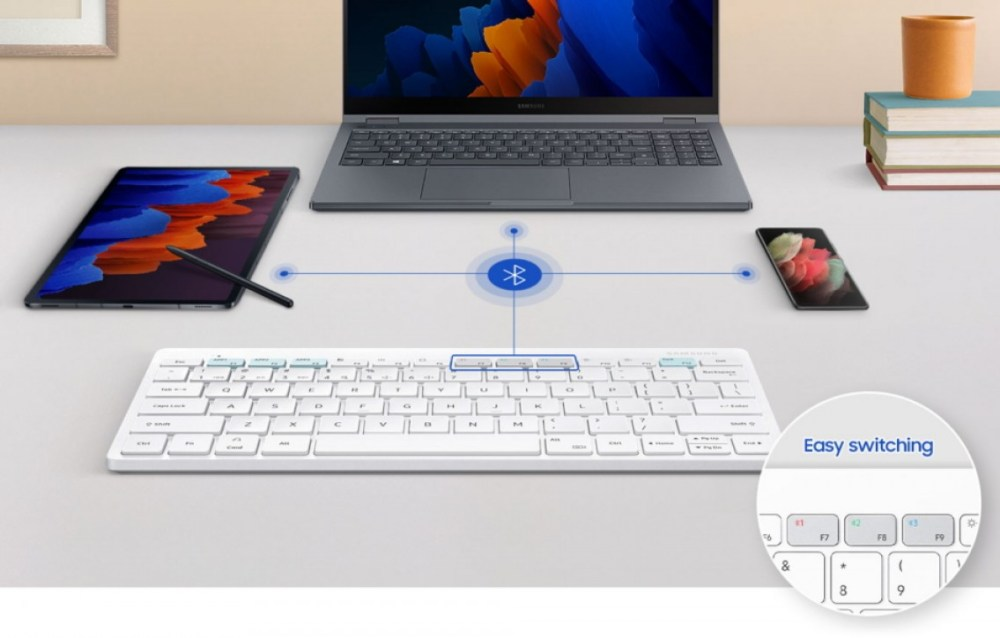 Smart Keyboard Trio 500 brings DeX button and seamless connectivity with up to 3 devices