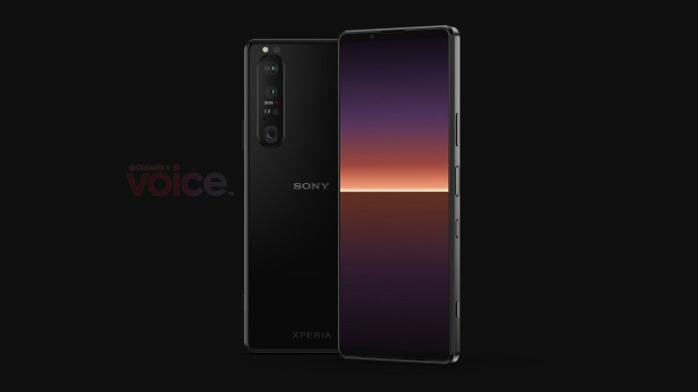 Render of the Xperia 1 III
