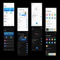 HiOS 7.5 (Android 11) features: Dark mode