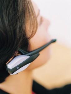 Ericsson's first Bluetooth headset