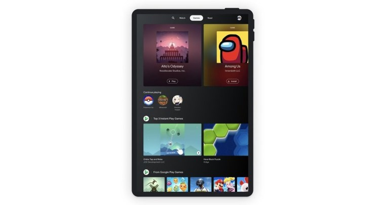 Google announces Entertainment Space for Android tablets
