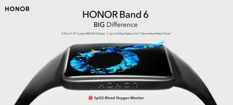 Honor Band 6 launching soon in India