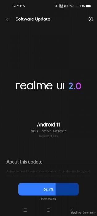 Realme UI 2.0 untuk Realme 7i