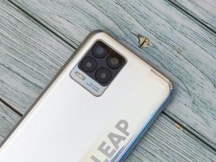 Realme 8 has a quad camera and big