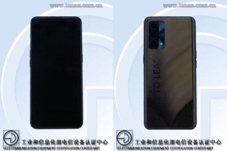 Realme V25 coming soon, could be either of recently certified Realme phones