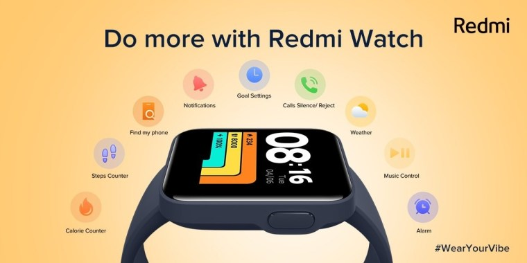 Redmi Note 10S debuts in India as Redmi Watch tags along