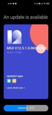 Xiaomi Mi 11 MIUI 12.5 update in Europe