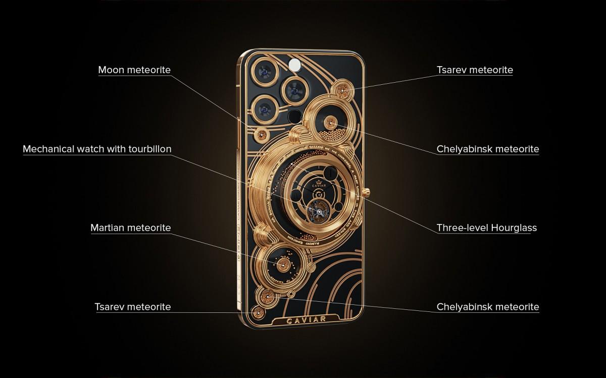 Caviar menempatkan meteorit di bagian belakang iPhone 13 Pro, menyepuh Tesla Model S