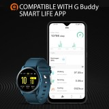 It pairs with the Gbuddy Smart Life App