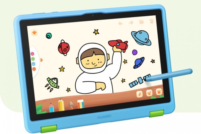 The new Huawei MatePad T 10 Kids Edition is designed for very young kids