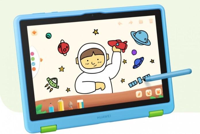O novo Huawei MatePad T 10 Kids Edition foi projetado para crianças muito pequenas