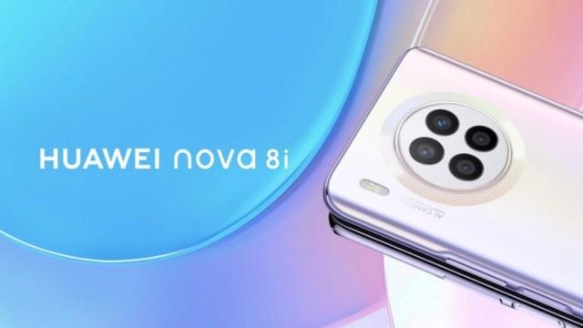 Huawei nova 8i appears in an official render