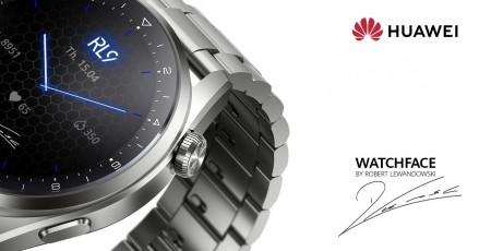 Tampilan jam khusus dirancang dengan masukan Robert Lewandowski