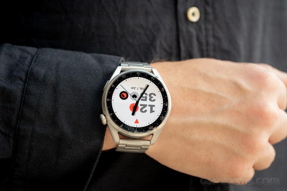 Huawei Watch 3 Pro untuk ditinjau