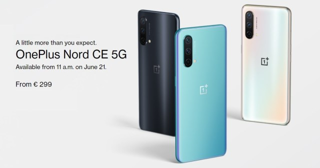 The OnePlus Nord CE is now available in Europe