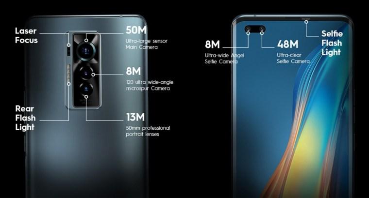 Tecno unveils first premium phone, the Phantom X, with 50 MP main and 48 MP selfie cameras