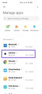 Step by step instructions on how the clear the app data for the Camera app