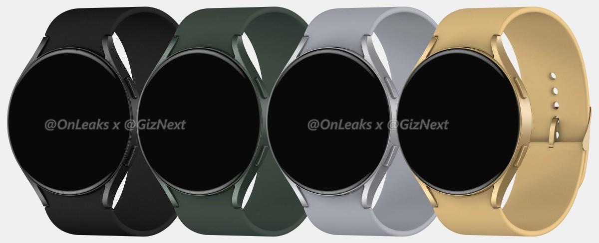 Samsung Galaxy Watch Active4 pertama menampilkan permukaan, menunjukkan desain baru yang lebih datar