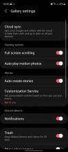 Galeri Samsung diperbarui dengan UI Laci dan pengguliran layar penuh