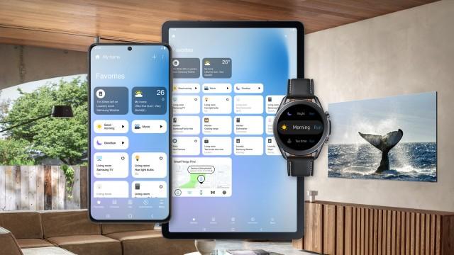 Aplikasi SmartThings yang diperbarui di Android dan WearOS