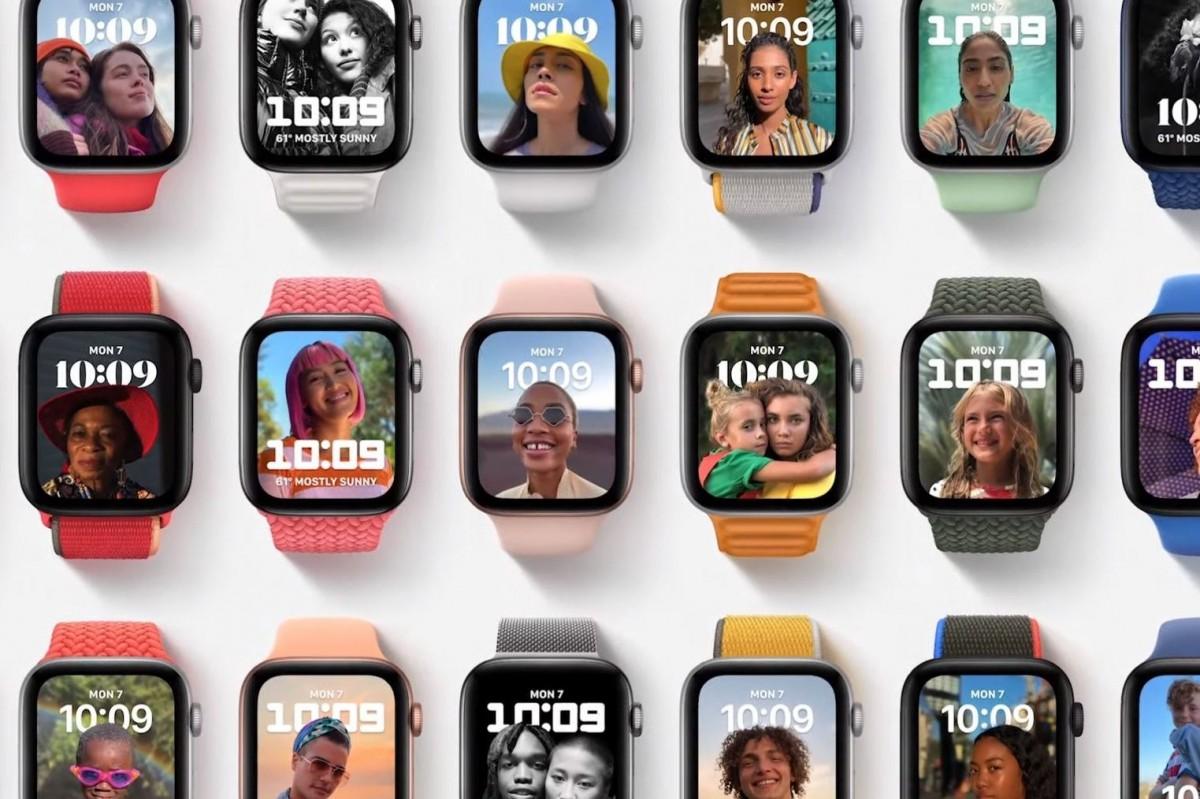 WatchOS 8 menghadirkan aplikasi Foto yang didesain ulang, tampilan jam Portrait baru