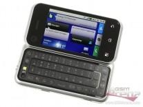 The Motorola Backflip: opened