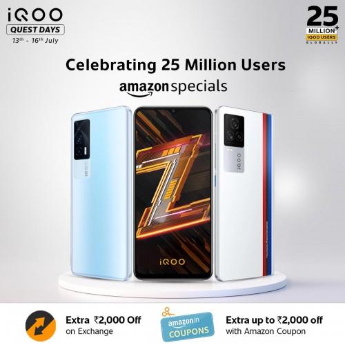 iQOO menjangkau 25 juta pengguna di seluruh dunia, mengumumkan penawaran khusus untuk merayakan pencapaian tersebut