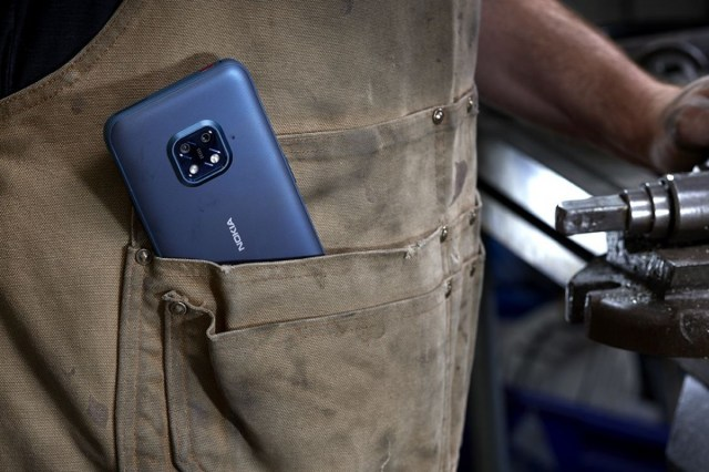 The Nokia XR20 is rugged, 5G and brings 3 years of OS and 4 years of security updates