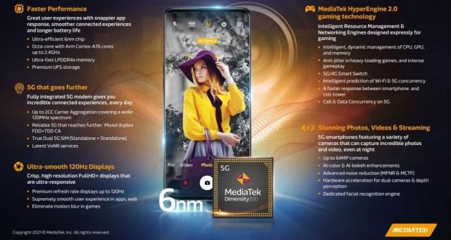 Mediatek unveils 6nm Dimensity 920 and Dimensity 810 chipsets -  GSMArena.com news
