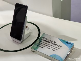 Oppo's 40W MagVOOC charging stand