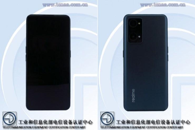 Realme GT Neo2 on TENAA