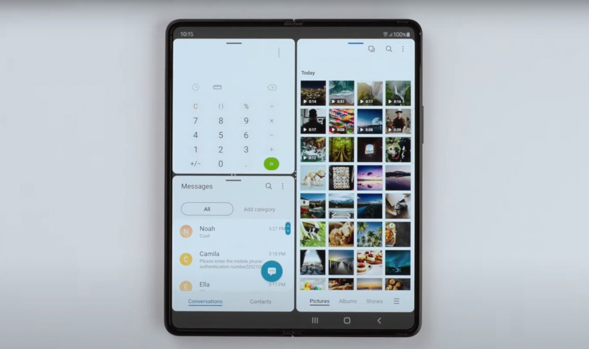 Tim Samsung menjelaskan bagaimana hal itu meningkatkan antarmuka pada Galaxy Z Fold3 dan Z Flip3