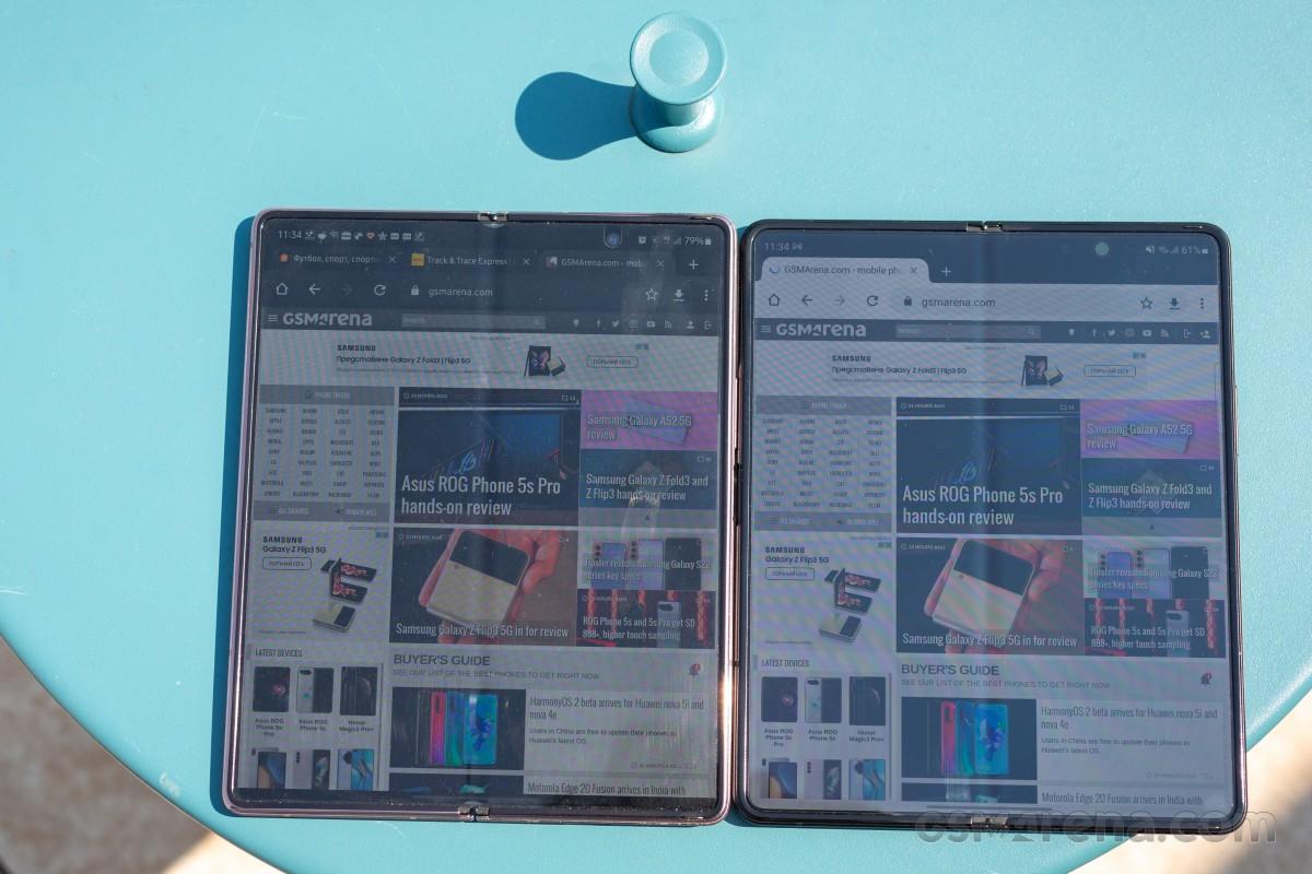 Samsung Galaxy Z Fold3 5G untuk ditinjau