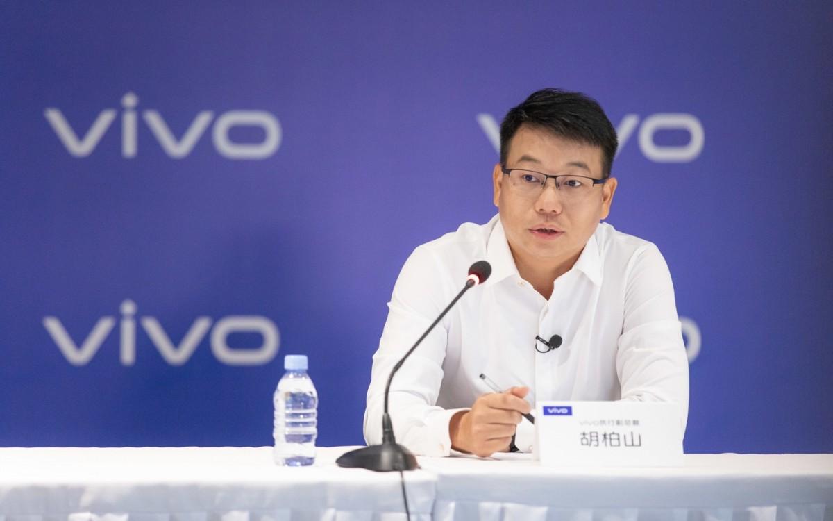 Hu Baishan, vivo VP dan vivo China President